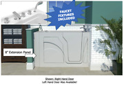 New Kennedy Whirlpool Walk In Bath Tub - Faucets Included Comes Assembled