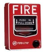 Spy-max Security Fire Alarm Pull Station Hidden Camera W/ Dvr And 30-day Battery