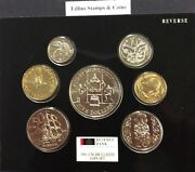 New Zealand -1991- Brilliant Uncirculated Coin Set- Rugby World Cup