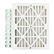 20x25x2 Merv 13 Pleated Ac Furnace Air Filters By Glasfloss. Case Of 12