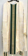 Chagall Designs Brocade Vestment / Chasuble And Stole - 674 - Priest Church