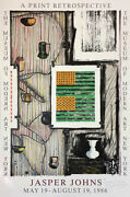 Moma Print Retrospective By Jasper Johns 1991 Signed And Limited