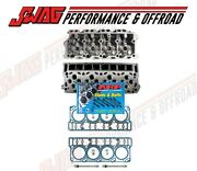 Enginetech Bare Heads With Oem 18mm Head Gaskets And Arp Head Studs 03-05 6.0l