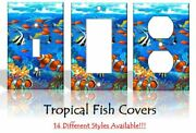 Tropical Fish Nemo Light Switch Covers Bedroom Kids Baby Home Decor Outlet