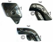 Ducati 748 916 996 998 Carbon Fiber Heat Shield Exhaust Cover Protector 3 Types