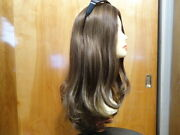 Malky Wigs Sheitel European Multidirectional Medium Brown Highlights 6/8/10 La
