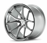 22 Ferrada Fr2 Machined Silver Concave Forged Wheels Rims Fits Chrysler 300 C S