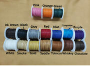 Deerskin Deer Leather Lace Spool Roll 1/8 X 50 Ft Lacing Cord String Craft