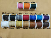 Deerskin Deer Leather Lace Spool Roll 1/4 X 25 Ft Lacing Cord String Craft F-2