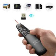 Rii R900 Rt-mwk14 2.4ghz Mini Wireless Air Mouse Presenter And Red Laser Pointer