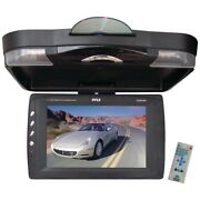 Pyle Plrd133f 12.1 Ceiling-mount Lcd Monitor With Dvd Player And Ir Transmitter