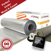 Cu Heating Foil Electric Under Wood And Carpet Heating Kit 150w/mandsup2 All Sizes