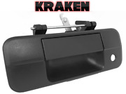 Kraken Tailgate Latch Handle For Toyota Tundra 2007-2013 Textured With Keyhole