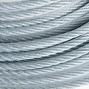 5/8 Galvanized Wire Rope Steel Cable Iwrc 6x19 250 Feet