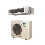 18000 Btu 17.5 Seer Daikin Single Zone Ducted Air Conditioning System