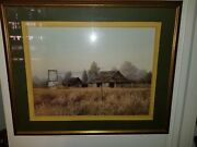 Gene Speck Farmhouse Style Large Print Matted And Framed High Quality Stunning