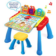 Kids Activity Desk Deluxe Chair Interactive Learning Toy Vtech Touch Learn Gift