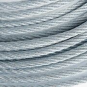 7/8 Galvanized Wire Rope Steel Cable Iwrc 6x25 600 Feet