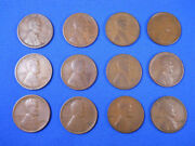 1909-1958 Lincoln Wheat Cent Penny Set Collection 115 Coins Some Tough Dates