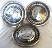 Original 1970and039s Dodge Challenger Charger Dart Wheel Cover Hub Caps 14 Set 3