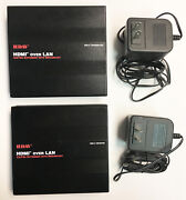 New 300and039 Ft Hdmi Cat 5e Utp 1080p Video 100 Meter Extender Pc Mac Hdtv Cable Lan