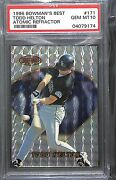 1996 Bowmanand039s Best Atomic Refractor 171 Todd Helton Psa 10