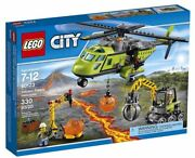 60123 Volcano Supply Helicopter Lego Set Legos City Town Sealed New Explorers