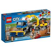 60152 Sweeper And Excavator Truck Street Lego City Town New Legos Set