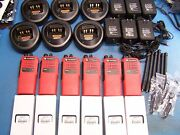 6 Motorola Ht750 Vhf 136-174mhz 16 Channel Mint Tested