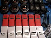 6 Motorola Ht750 Uhf 450-512 16 Channel Mint Condition Tested