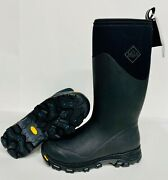 Muck Black Mens Arctic Ice Tall New Vibram Icetrek Sole Extreme Winter Boots