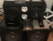 Kicker Comp R, Chunchiero With Audio Pipe Speakers Plus Amps Equalizer, Compasit
