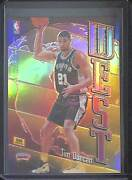 1998-99 Topps Chrome East West Refractor Ew8 Tim Duncan And Keith Van Horn