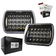 Eagle Lights 5 X 7 Black Led Headlights - Double Pack With Free Shipping Hi / Lo