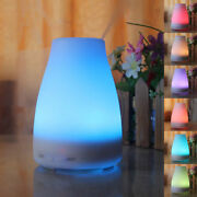 Eu Plug Diffuser Ultrasonic Mist Air Humidifier With Color-changing Led Lights