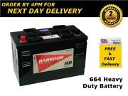 60527 664 Battery 105ah Tractor Defender Taxi Lorry - Heavy Duty