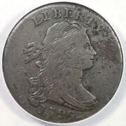 1796 S-111 R5- Anacs Vg10 Details Draped Bust Large Cent Coin 1c