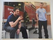 Taylor Kinney Signed Autographed 11x14 Photo Chicago Fire Coa Vd