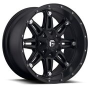 20 20x9 Fuel Hostage Black Wheels 33 Duratrac Tires Package 6x135 Ford F150