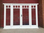 Hardwood French Doors With Sidelights Top Glazing Bars High Quality Bespoke