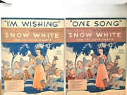 2 Snow White Sheet Music With Disney Newsreel About Hench