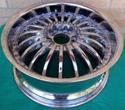 Revvo Chrome Tire Rim Wheel 18 X 7.5 Hot Rod Super Rare Vintage Used