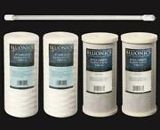 Replacement Filter Set For Our Well Water System. Uv Bulb + Sediment And Carbon