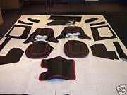 Austin Healey 100-4 Bn1 Bn2 And Lemans Leather Interior Choose Your Color / Piping