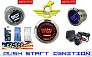 Jaguar Rover Led Push Start Button For Engine Ignition Kit - Free Usa Shipping
