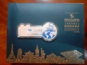 100 Grams The Colored Commemorative Silver Bar Of Expo 2010 Shanghai China