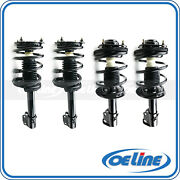 4x Quick Complete Struts Shocks And Coil Spring Assemblies For 95-99 Dodge Neon