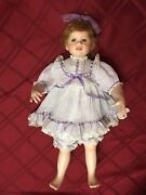 Crying Thelma Resch Young Girl 1998 428/1500 Porcelain Doll Lavender Pajamas 24