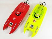 New Rtr Heng Long Remote Control Flame 2.4g Propeller Speed Racing Boat Rc Boat