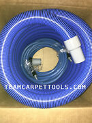 25 Ft. 1.5 Carpet Cleaning Extractor Vacuum And 25 Ft. 1/4 Solution Hose W/ Qds